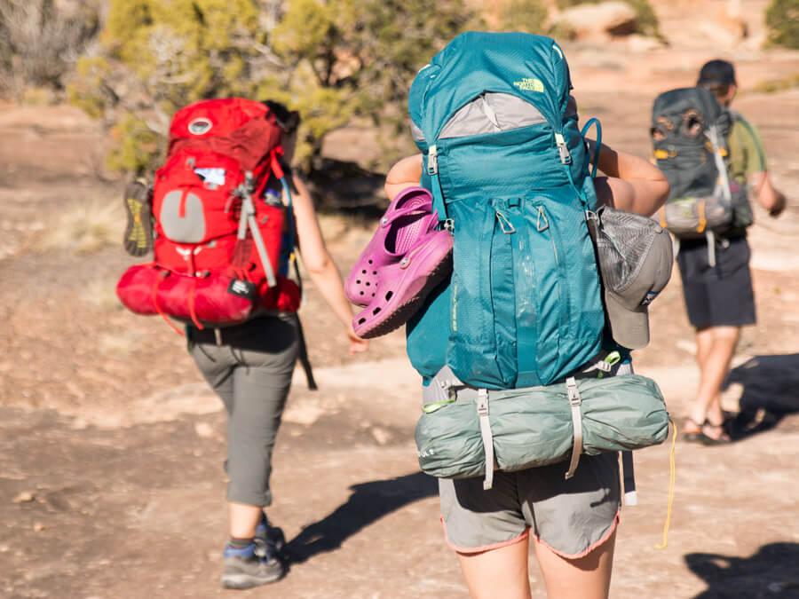 وزن کوله پشتی کوهنوردی