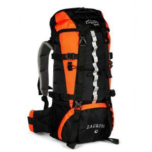 کوله پشتی کوهنوردی zs42 رنگ نارنجی