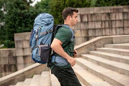 تنظیم قد کوله پشتی کوهنوردی