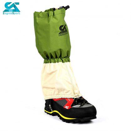 گتر کوهنوردی ضد آب زاگرس اسپرت رنگ سبز سفید