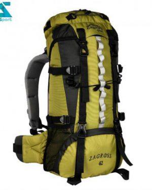 کوله پشتی کوهنوردی zs52 رنگ سبز سدری
