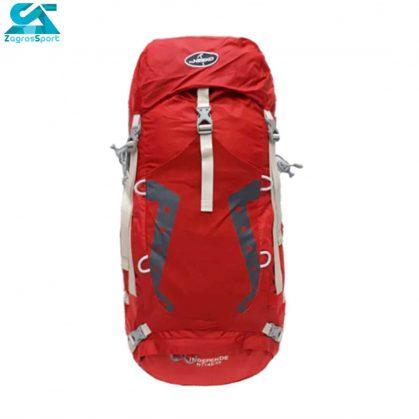 کوله پشتی کوهنوردی نیکو ظرفیت 45-55 لیتری قرمز