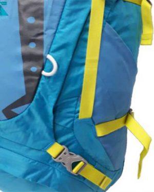 نمای جلو کوله پشتی کوهنوردی نیکو ظرفیت 45-55 لیتری