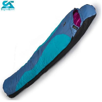رنگ آبی کیسه خواب ویسکوز قایا مدل Gaya 300