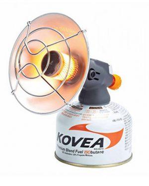 نمای هیتر (بخاری) Kovea مدل Handy Sun Gas بر روی کپسول گاز