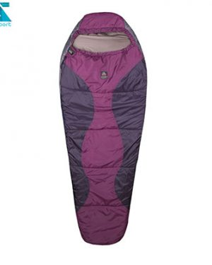 رنگ بنفش کیسه خواب ویسکوز گایا مدل ۲۰۰ Gaya