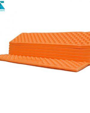 زیرانداز کیسه خواب آکاردئونی کمپسور نارنجی