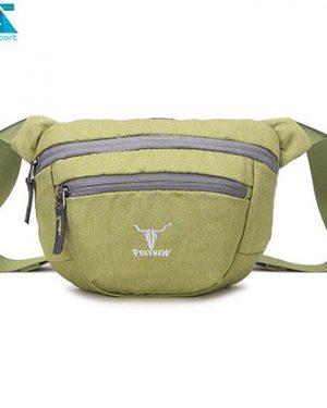 کیف کمری کله گاوی 6104 سبز روشن